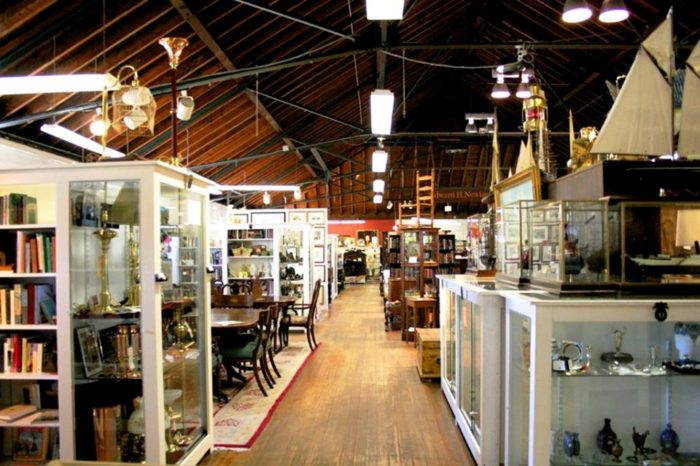 9. Armory Antiques Marketplace, Newport