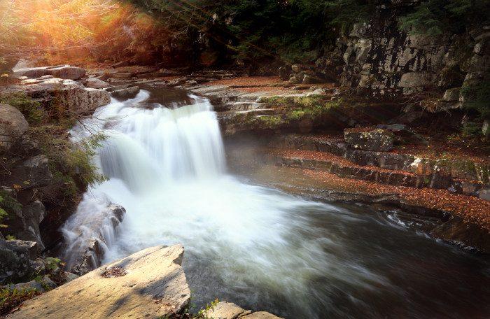 11. Vermont: Bartlett Falls