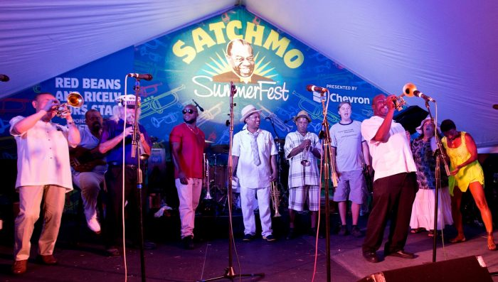 15) Satchmo Summer Fest, 400 N. Peters St.