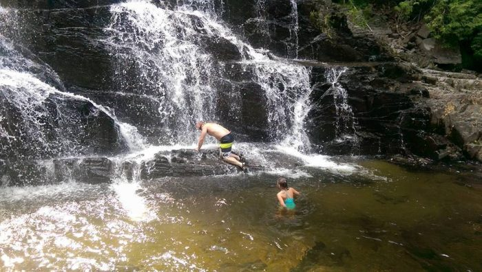 9. Houston Brook Falls Pools, Bingham