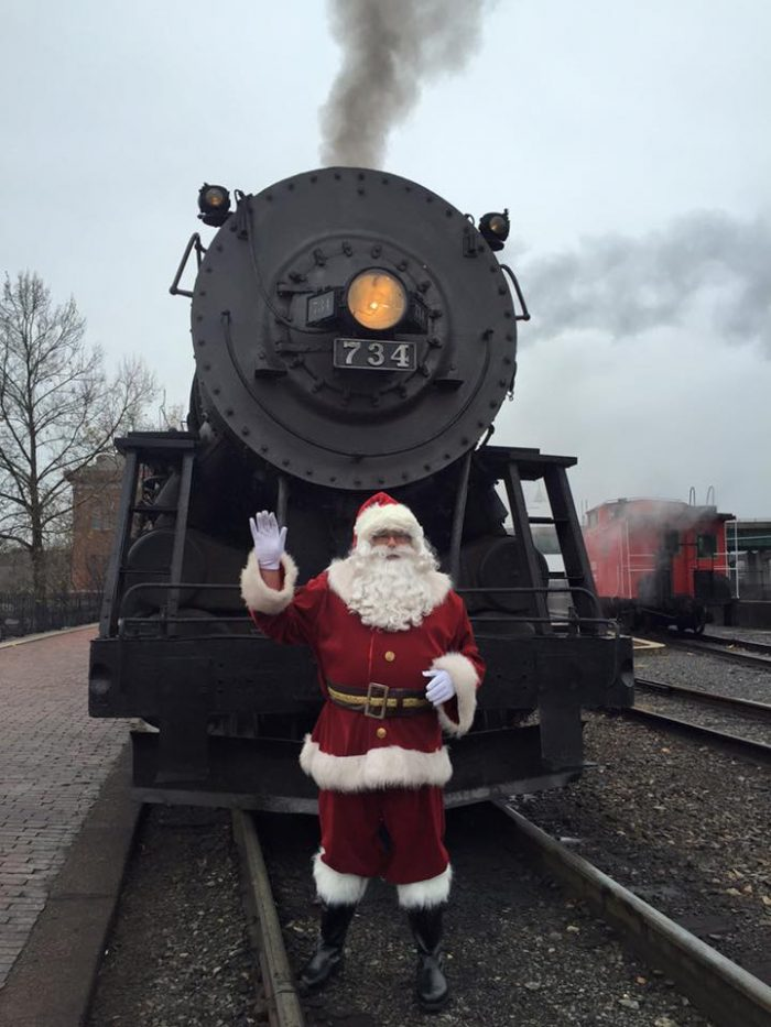 And when the steam locomotives do return, make sure to book the North Pole Experience. This includes a 3-hour round-trip with Santa, complete with cookies and hot chocolate.