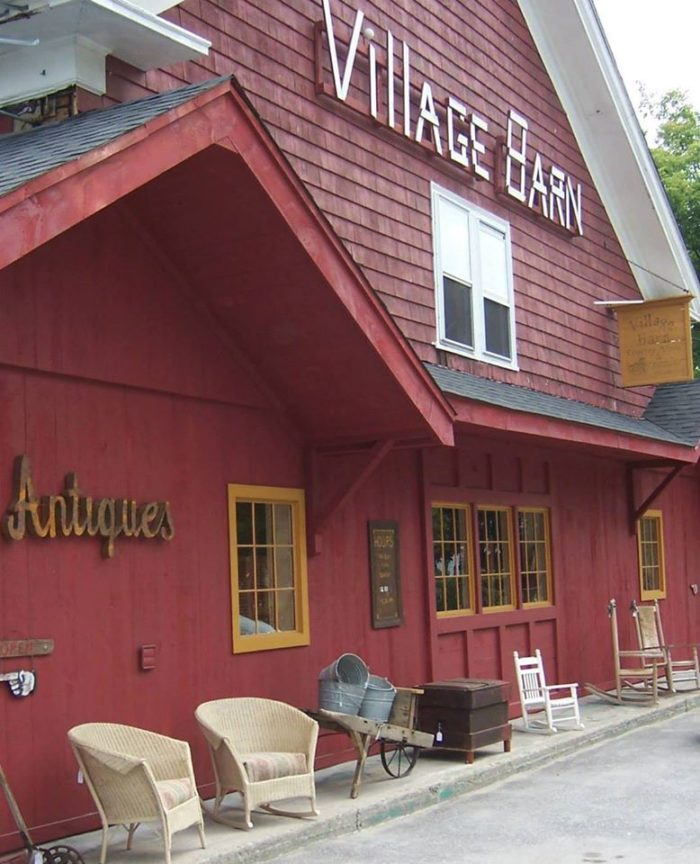 6. Village Barn Country Store & Antiques, Mapleville