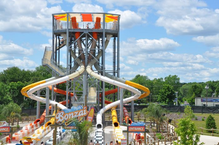 6. Hurricane Harbor, Six Flags New England, Agawam