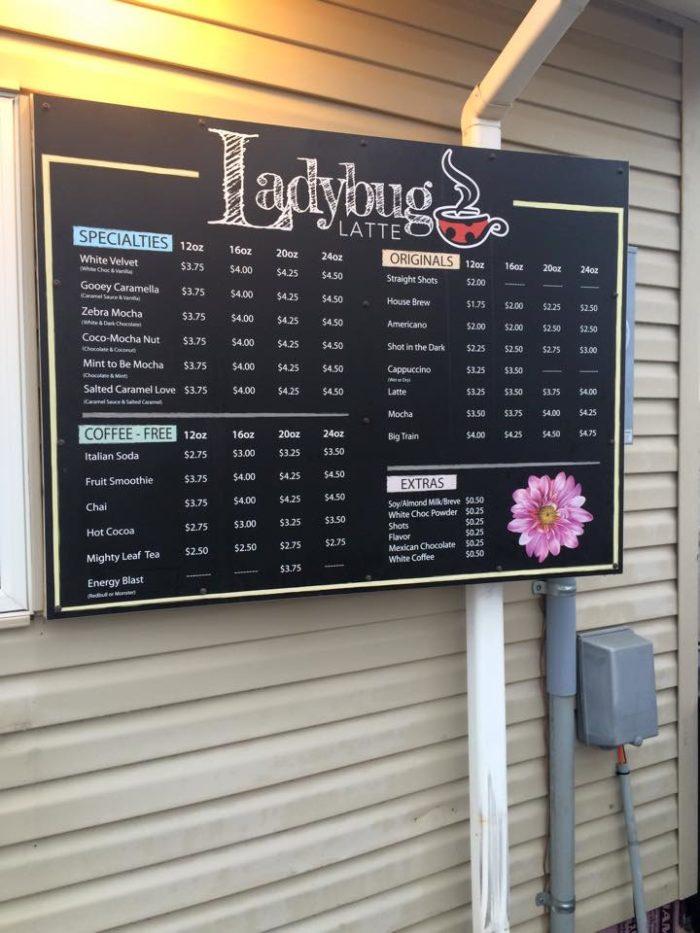 6. Ladybug Latte - West Fargo