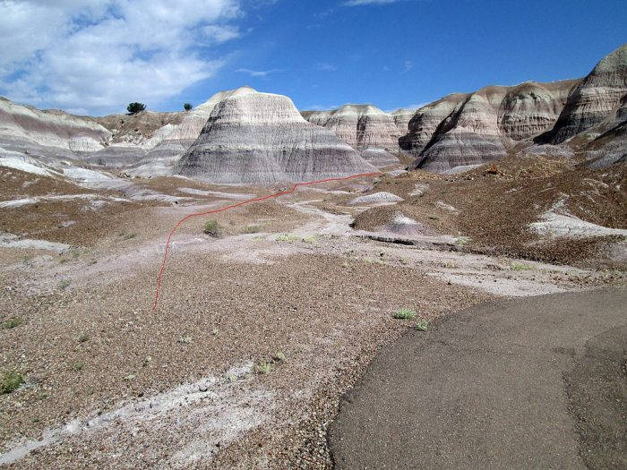 5. Blue Mesa Trail, Petrified Forest
