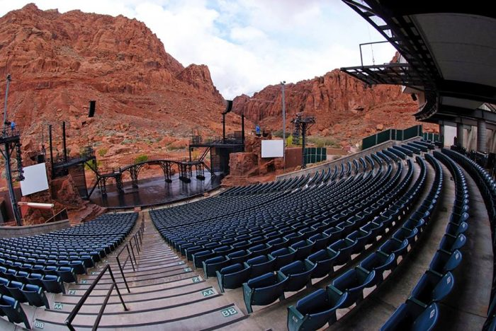 17. Outdoor Theater in Southern Utah