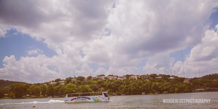 "7. Explore Austin by land and ""sea"" with Austin Duck Tours."