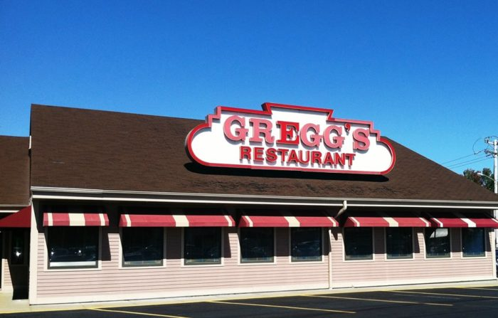 2. Gregg's Restaurant, Providence, East Providence, Warwick, and North Kingstown