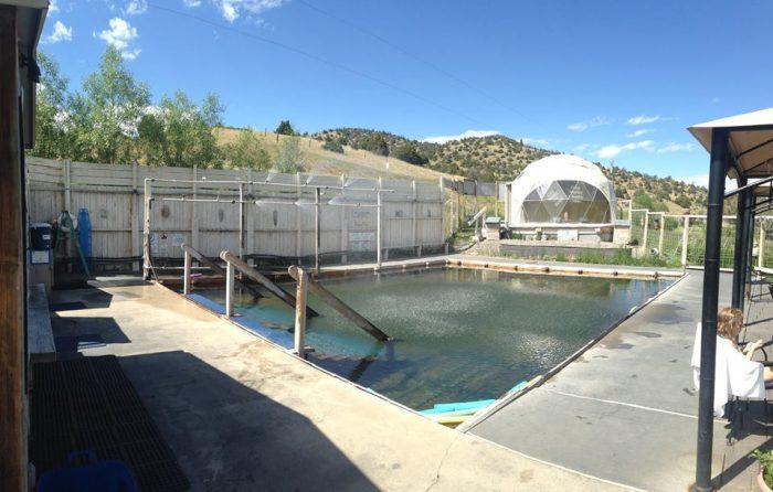 11. Head to Norris Hot Springs and enjoy a nice soak.