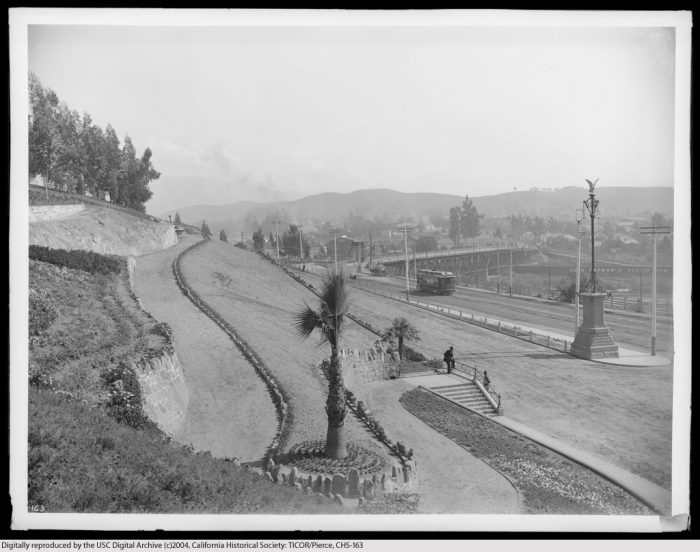 7. Elysian Park in its early days. It's the oldest park in Los Angeles.