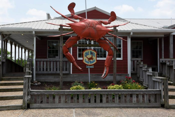 8. Old Mill Crab House, Delmar