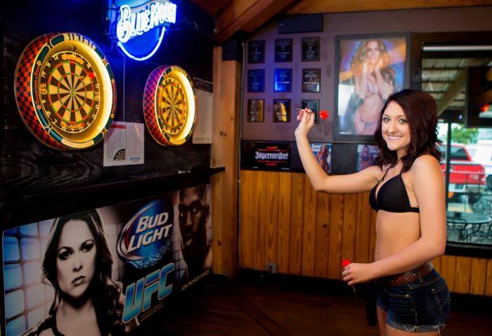 "11. It's always bikini weather in Texas - ""Sports (bar) with a view"" at Bikini Sports Bar and Grill!"