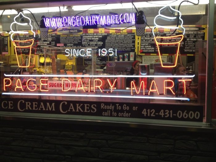 8. Page Dairy Mart