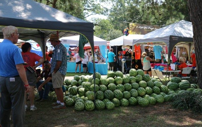 10. Get your fill of watermelon at the Mississippi Watermelon Festival in Mize.