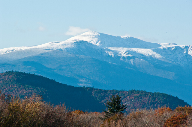 10. This shot of Mount Washington shows just how massive the mountain is.