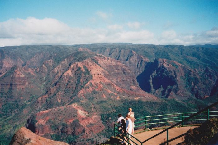 11. Take in the views at the Waimea Canyon Lookout.