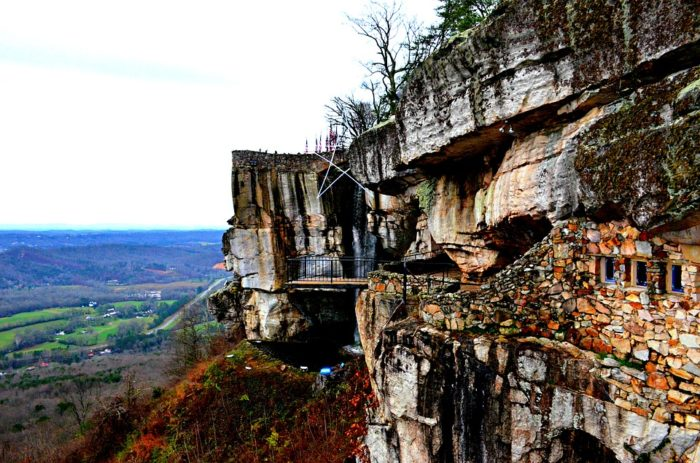 11. Visit Rock City in Chattanooga.