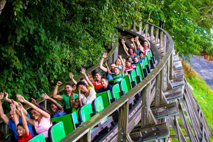5. The Wildcat, a wooden roller coaster built in 1927, is still running at Lake Compounce! It's a real time capsule and is a totally different experience than the steel monsters you're used to.