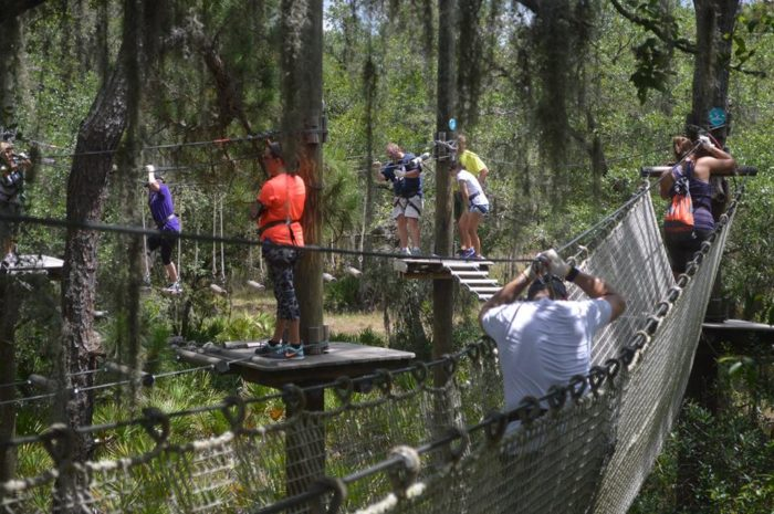 Facebook/TreeUmph! Adventure Course & The Ultimate Treetop Adventure Course Is Here In Florida