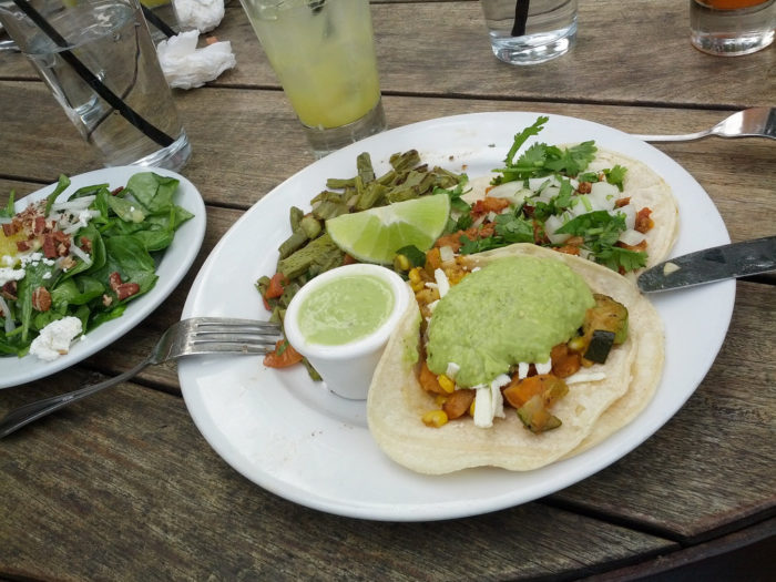 12. Takoba has some rockin' tacos with a chic dining environment.