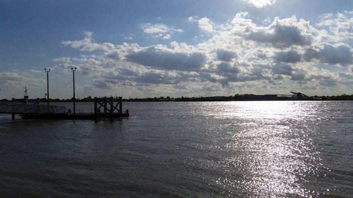 2) Mississippi River Levee