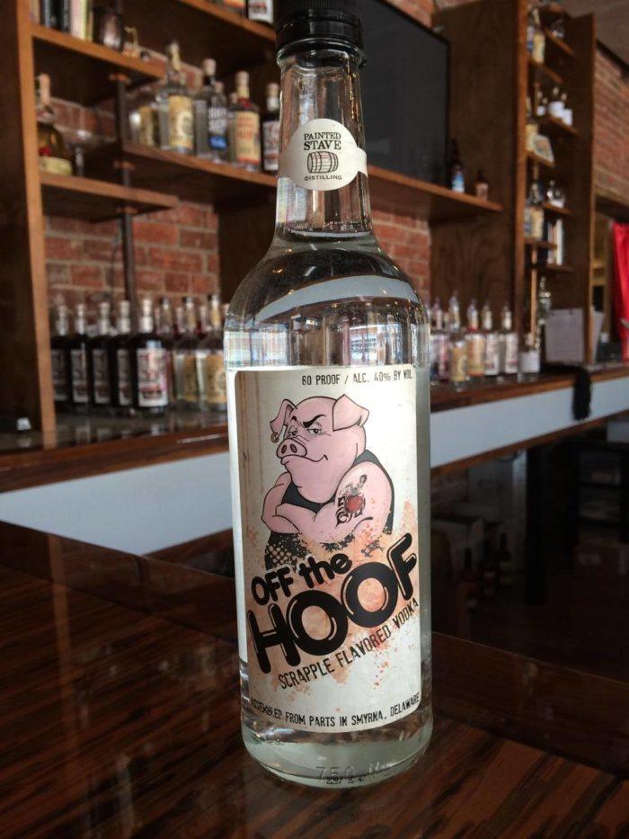 scrapple flavored vodka