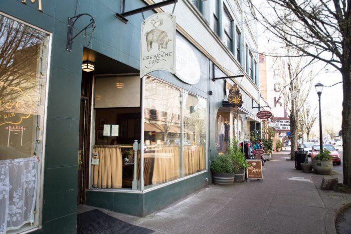 15. Crescent Café, McMinnville