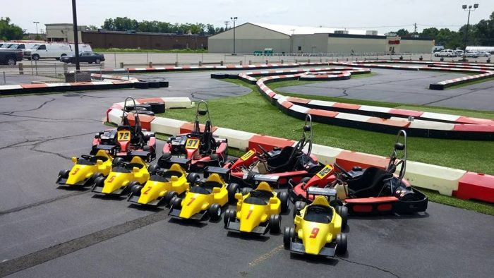 6. Have the ride of your life at On Track Karting in Wallingford.
