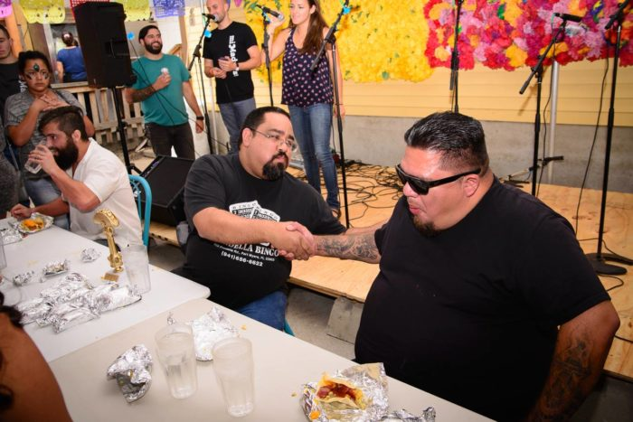 1. Would you participate in this taco eating contest at Mi Madre's party?