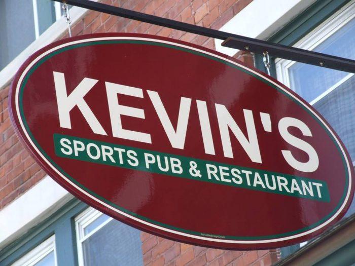 9.  Kevin's Sports Pub & Restaurant, 27 Main St., North Bennington
