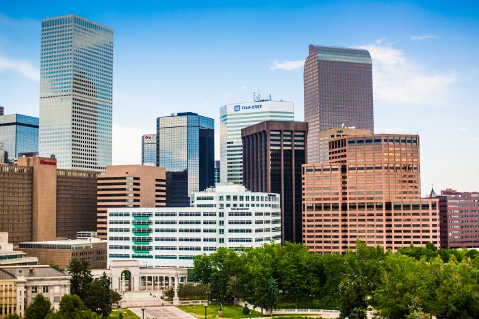 1. Denver ranked #1 on Forbes' 2015 List of the Best Places for Businesses and Careers.