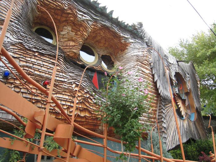 9. The Mushroom House (Cincinnati)
