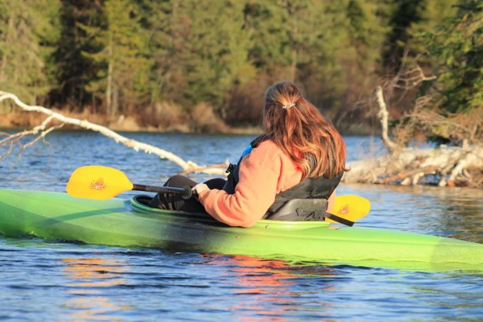 For fun - Paddle around by the B&B and enjoy the beauty of the surrounding area.