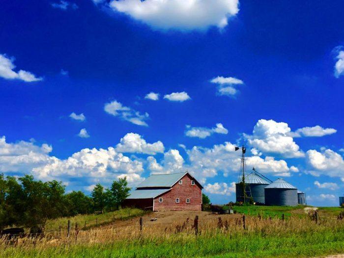 4. This Cedar Rapids farm is like the ultimate portrait of Nebraska.