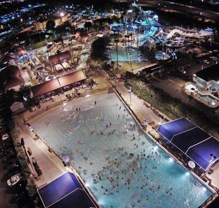 """9. If you want to combine water and darkness, check out the """"night splash"""" events at local water parks."""