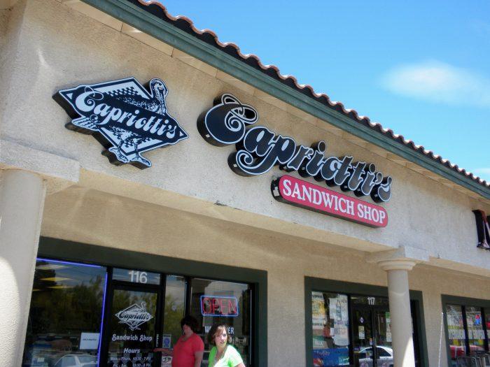9. Capriotti's Sandwich Shop, Davenport
