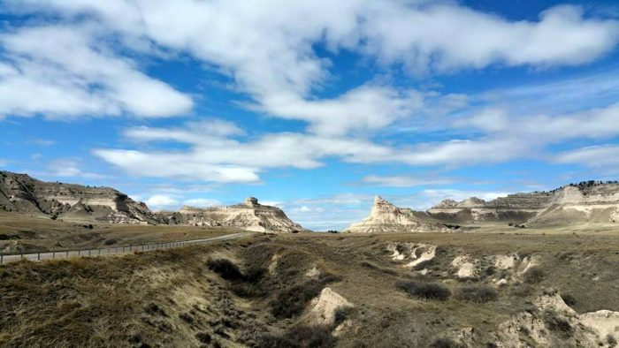 8. WOW. Scotts Bluff Monument is so stunning in this photo.