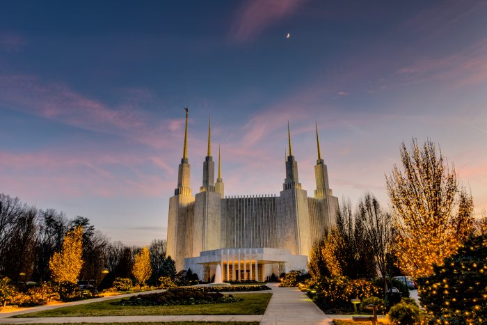 10. No, you're not dreaming. The  Mormon Temple in Maryland is astonishing.