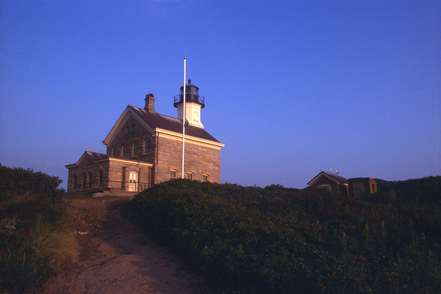 8. North Light on Block Island is almost too beautiful to be real.
