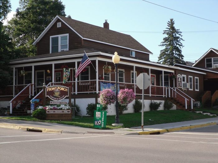 Front Porch Coffee & Tea Co. for snacks, lunch or a caffeine fix!