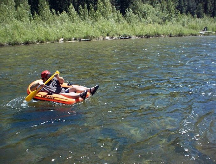 15. Floated down the Boise River.
