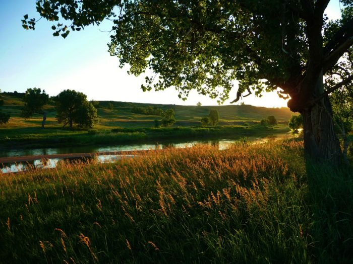 6. This picture perfect South Dakota setting for a fairy tale.