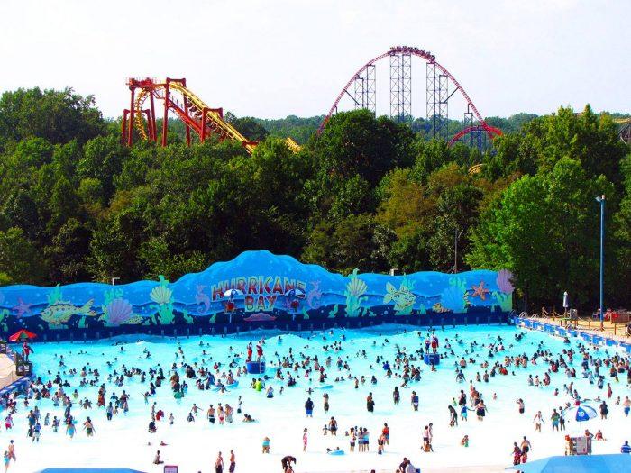 3. Six Flags America, Upper Marlboro