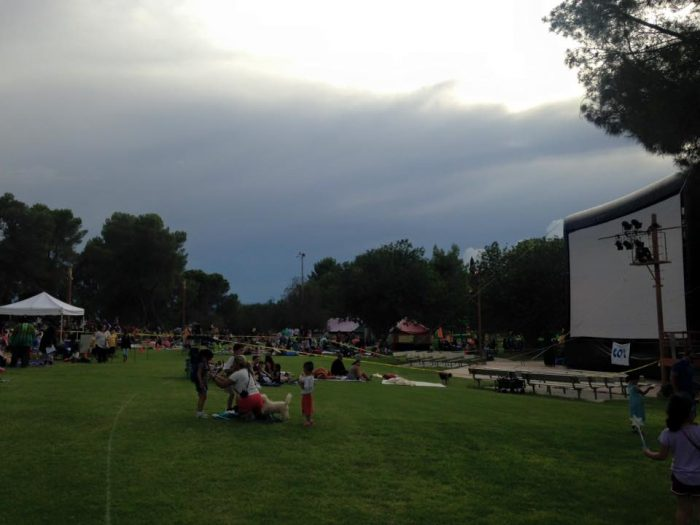 7. Movie nights in a local park are also fun! Cities across the state host these each summer, like Flagstaff, Tucson, and Tempe.