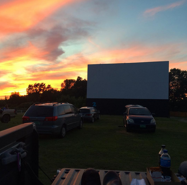 5.  Drive in movies