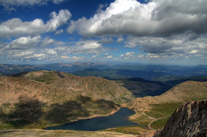 11. Summit Lake and Mt. Evans