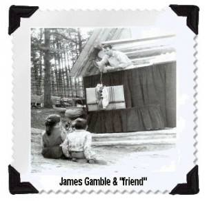"""""""18 year old James Gamble was Santa's puppeteer back in the 1950's!"""""""