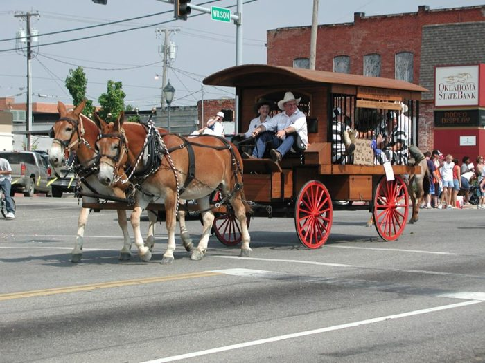3. Will Rogers Memorial Rodeo Parade