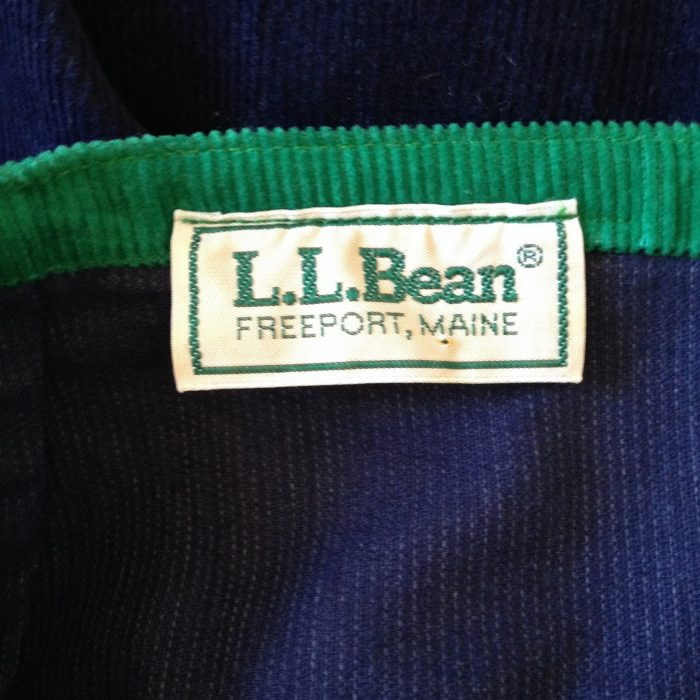 7. I just returned this jacket to L.L. Bean. I got it for Christmas in 1978.