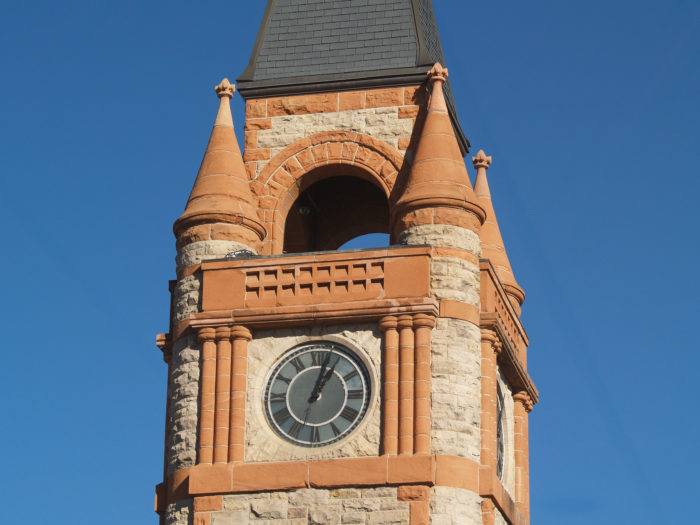 "13. The Depot Clocktower in Cheyenne is shouting ""Rapunzel, Rapunzel, let down your hair."""